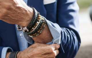 Как нужно носить браслет мужчине и женщине по этикету