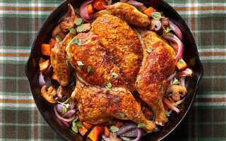 Как едят курицу по правилам этикета