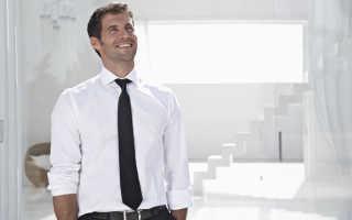 Как правильно измерить длину галстука самостоятельно и какой она должна быть по этикету