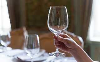 Как держать бокал с вином и другими алкогольными напитками согласно этикету