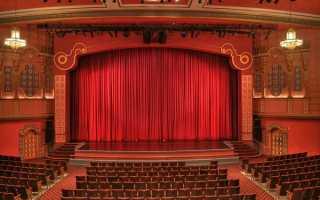 Правила посещения театра