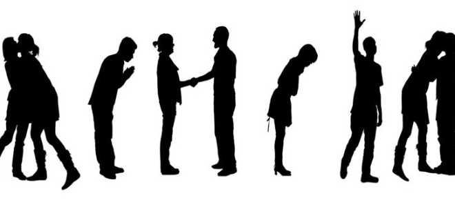 Правила приветствия и прощания по этикету