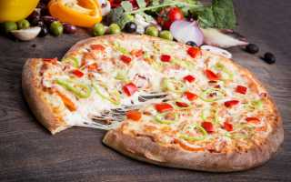 Как по этикету есть пиццу