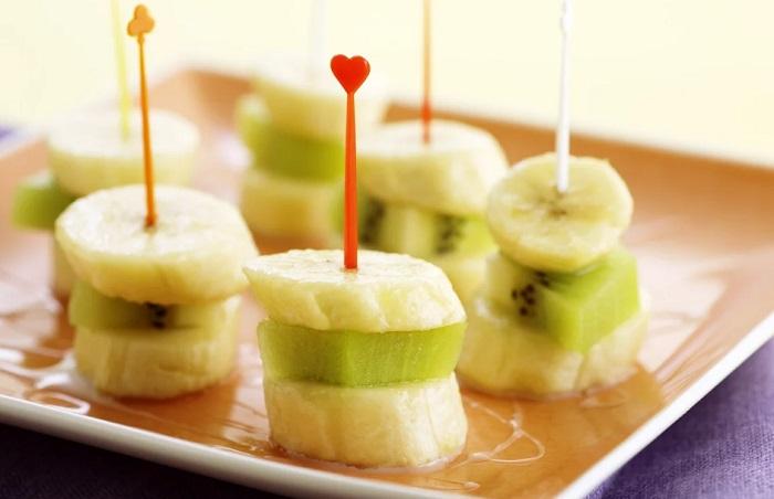 Сервировка фруктов к столу