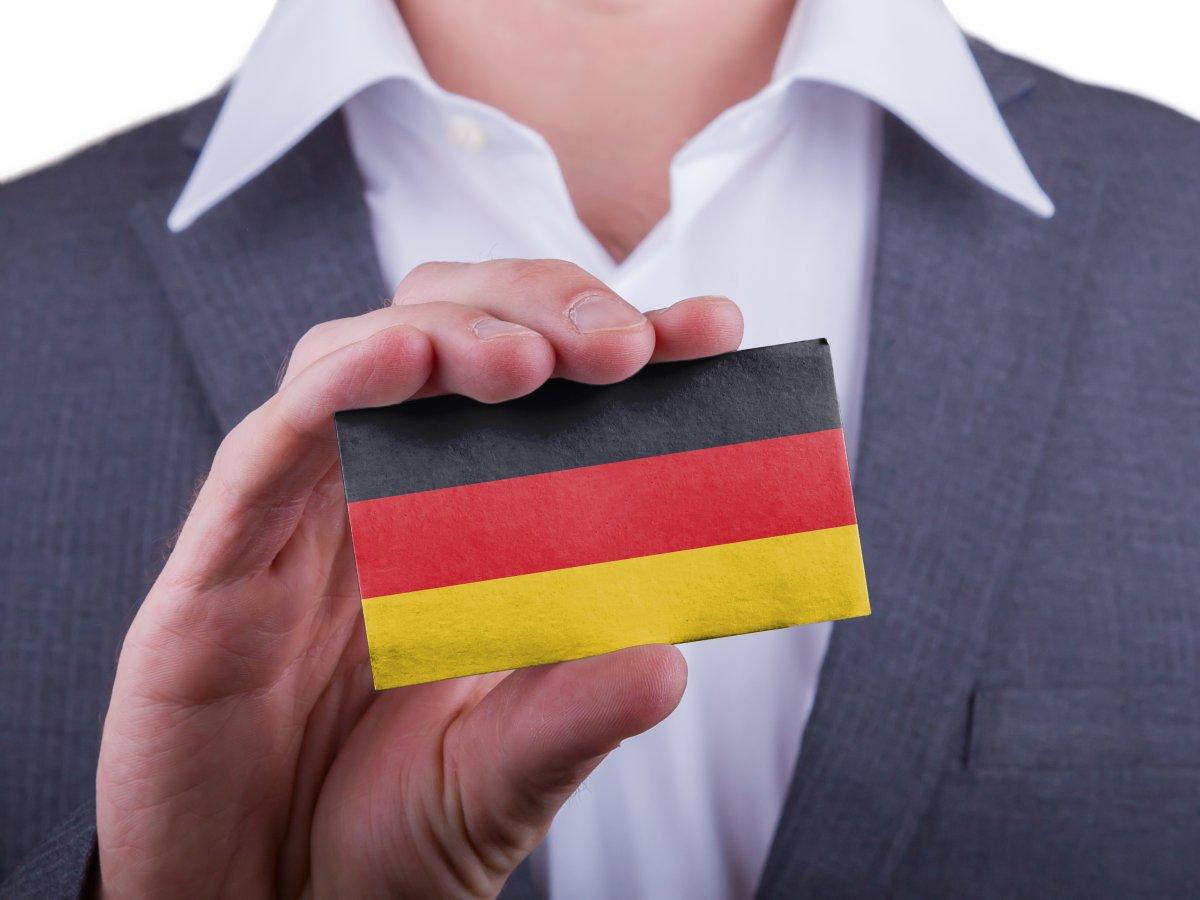 Этикет Германия