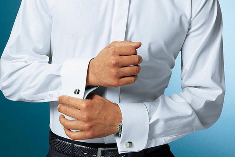Стрелки на мужской рубашке